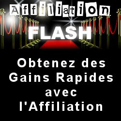 Affiliation Flash de Sylvain Millon